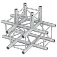 Beamz Professional 182.344 50cm P30-T42 Square 4-Way Truss T-Junction