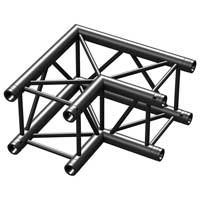 Beamz Professional 182.473 50cm P30-C21 Square 2-Way Truss Corner 90 Degrees