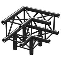 Beamz Professional 182.476 50cm P30-C30 Square 3-Way Truss Corner 90 Degrees
