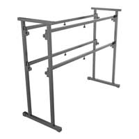 Vonyx DB1 Mobile DJ Stand Table 1.2m