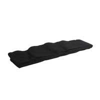 Highlite 6m x 0.2m Black Stage Skirt Molten