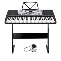 Electronic Keyboard for Beginners with 61 Full Size Keys
