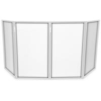 Vonyx DB2 DJ Screen Replacement Panels, White