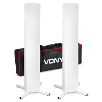 Vonyx DJP165 DJ Plinth Stands, Pair