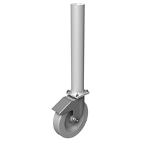 PD 30cm Round Stage Leg with Wheel