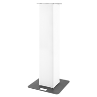 BeamZ P30 Truss Tower with White Lycra, 1.5m