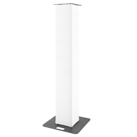 BeamZ P30 Truss Tower with White Lycra, 2m