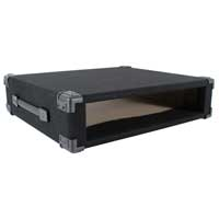 "2U 19"" Carpet Covered Equipment Case"