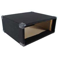 "4U 19"" Carpet Covered Equipment Case"