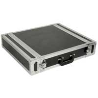 "Power Dynamics 19"" Inch 2U Rack Equipment Flightcase"