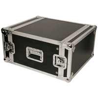 "Aluminium Flightcase Fits 4x 19"" Units Mobile DJ Disco Equipment Protective Case"