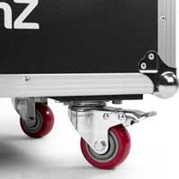 BeamZ FCC9 Uplighter Charging Flight Case, 630 x 400 x 280mm