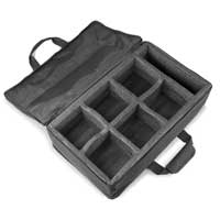 Beamz AC-440 Soft Case for 6 Uplight / Par Lights BBP94