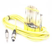 Proel 6.35mm Male Mono Jack to Female XLR Yellow 6m Lead