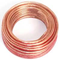 Skytronic High Quality Transparent Copper Speaker Cable