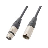 PD Connex High Quality Female XLR To Male XLR DMX Cable Lead 20m