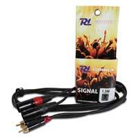 PD Connex 2x XLR Male - 2x RCA Male 1.5M Cable