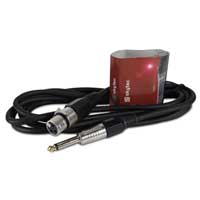 Skytec 6.35mm Jack To Female XLR Audio Cable 3m