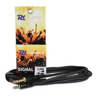PD Connex Stereo Male 6.35mm Jack To Stereo Male 3.5mm Jack Cable 3m