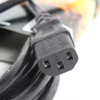 PD Connex IEC Extension Cable - Male - Female 2.0m