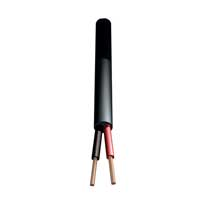 PD Connex Speaker Cable 2 x 1.5mm, 15A Black 1m Length