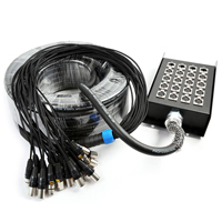 Snake Stage Box 16 In 4 Out XLR Multi Cable 20mm 30m