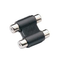 2 x RCA Phono Sockets - 2 x RCA Phono Sockets Coupler