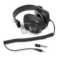 Soundlab A073A DJ Headphones, Black