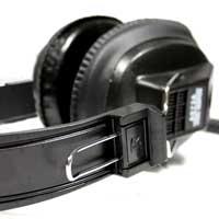 Soundlab A073A Black DJ Headphones, Set of 8