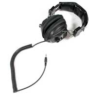 Soundlab A077B DJ Headphones, Black