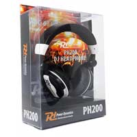 PD PH200 DJ Headphones, White
