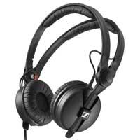 Sennheiser HD 25 Dynamic Headphones 70 Ohms Closed Supra-Aural Adjustable