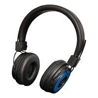 SoundLab Wireless Bluetooth On Ear Headphones - Blue