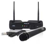 Proel WM202M-F2 Wireless Microphone & Receiver Set Karaoke