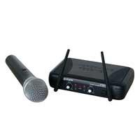 Skytec STWM722C 2 Channel Wireless UHF Microphones