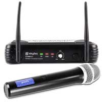 Skytec Single Channel UHF Wireless Microphone System