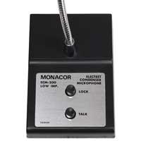 Monacor ECM-200 Electret Desktop Microphone