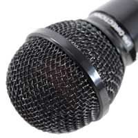 Pulse Black Dynamic Plastic Microphone