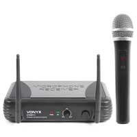 Vonyx STWM711 Wireless Handheld Microphone System (VHF 1-Channel)