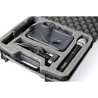 Vonyx WM73C Wireless Handheld & Bodypack Microphone System Set (UHF 2-Channel)
