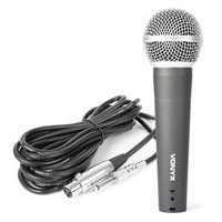 Vonyx DM58 Wired Karaoke Microphone with Cable