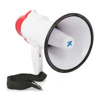 Vonyx MEG020 Battery Powered Megaphone with Built-In 20W Amplifier