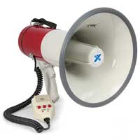 Vonyx MEG050 Battery Powered Megaphone with Built-In 50W Amplifier