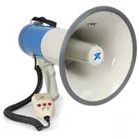 Vonyx MEG055 Compact Bluetooth PA Record Siren USB/SD MP3 Player Megaphone 55W