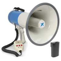 Vonyx MEG065 Battery Powered Megaphone with Built-In 65W Amplifier