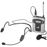 Monacor 172250 TXA-800HSE Wireless Microphone Pocket Transmitter UHF PLL