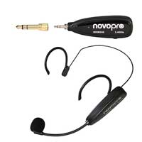 Novopro WHM240 Wireless Headset Microphone System