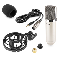 Vonyx CM400 Studio Condenser Microphone Silver