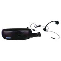 Eagle P660B Waistband Amplifier with Headband Microphone 5W