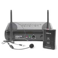 Vonyx STWM711H Wireless Bodypack Microphone System (VHF 1-Channel)